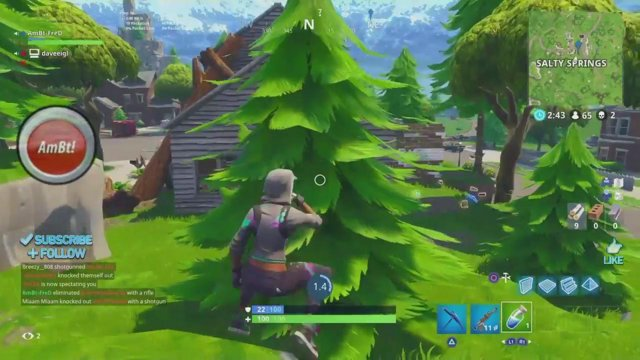 how do you get aimbot for fortnite on ps4