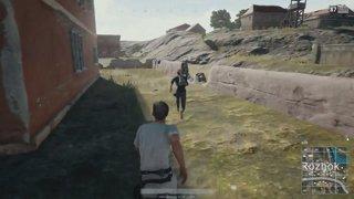 Bringing a fist to a gun fight