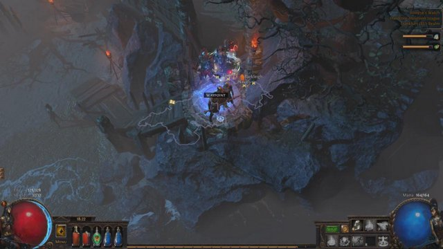 Righteous fire from level 16 - Incursion League