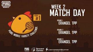 PUBG Mobile Variety Challenge #1 Event Week 2