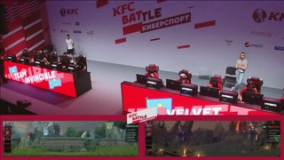 Velvet Gaming vs Invincible, KFC Battle, game 2 [GodHunt, Inmate ]