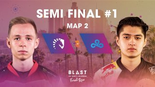 BLAST Pro Series Los Angeles 2019 - Front Row - Semi-Final - Team Liquid Vs. Cloud9 - map 2