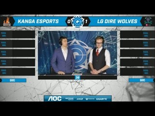 AOC CGPL Winter - Dire Wolves VS Kanga Game 2