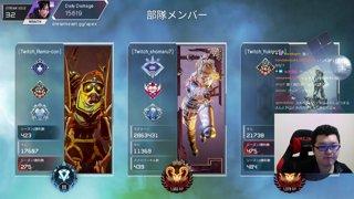 プレデター  6キルApex Legends「翔丸」