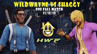 HWF: WildWayne Vs Shaggy Dankweed (One Fall Match) 11/18/18