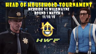 HWF: Head of Household Tournament McBride Vs. Wild Wayne (Round 1 Match 6)