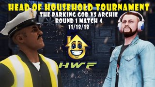 HWF: Head of Household Tournament The Parking God Vs Archie Cooper (Round 1 Match 4) 11/18/18