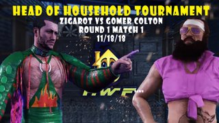 HWF: Head of Household Tournament Zigarot Vs Gomer Colton (Round 1 Match 1) 11/18/18