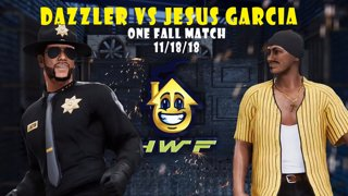 HWF: Dazzler Vs Jesus Garcia (One Fall Match) 11/18/18