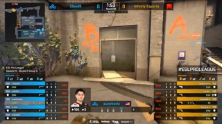 [PT-BR] Cloud9 vs. Infinity | ESL Pro League 2019 | Dia 16 - [Mapa 1 - TRAIN]