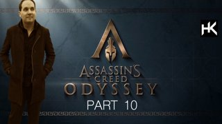 Assassin's Creed Odyssey | Part 10 | Let's Play | Upgrade your spear to level 5