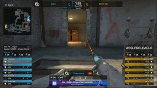 CS:GO - ViCi vs. MVP PK [Inferno] Map 1 - Group C - ESL Pro League Season 9 APAC