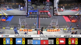 2019 FIRST Robotics Competition - Smoky Mountains Regional - Multiview - Saturday