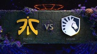 [EN] Fnatic vs Liquid BO1 - The International 2019 Main Event