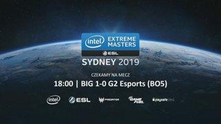 3DMAX vs G2   Zamknięte europejskie kwalifikacje IEM Sydney 2019