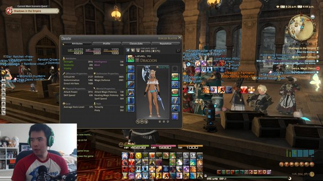 FFXIV 4 4 Day 3 - Raids, Crafting and Melding (pt 1)