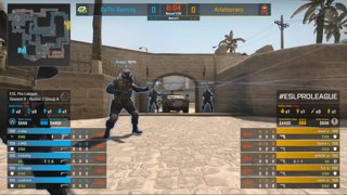 CS:GO - Aristocracy vs. OpTic [Mirage] Map 1 - Group A - ESL Pro League Season 9 Europe