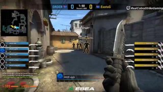Highlight: Exsto vs ORDER - BO1 - inferno [ESEA MDL Season 29 Australia]