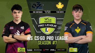 AIS CS:GO Pro League Season#7 R.7 | TEAM MAPLE vs. 2BE CONTINUED MAP2 OVERPASS
