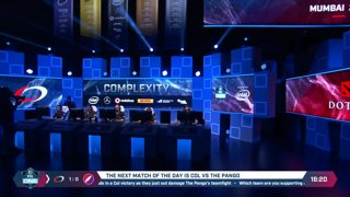 The Pango vs. compLexity Gaming - Game 2 - LB Ro4a #2 - ESL One Mumbai 2019