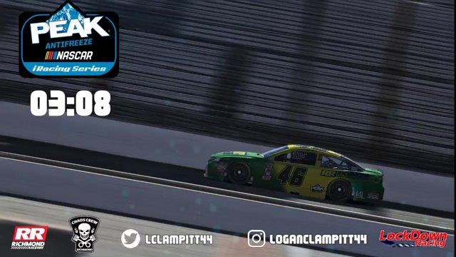NASCAR PEAK Antifreeze iRacing Series Brickyard Win