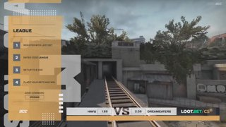 (EN) HAVU vs DreamEaters | map 2 | Loot.bet/CS Season 3 | by @VortexKieran & @skrivcasts