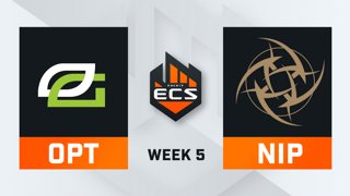 OpTic vs NiP - Map 2 - Dust 2 (ECS Season 7 - Week 5 - DAY1)