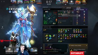 Purge Plays Crystal Maiden w/ Day9
