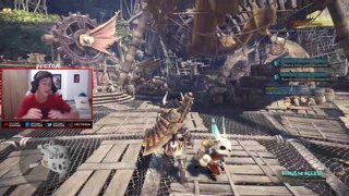 CAZANDO A UN DRAGON GIGANTE!!! - Monster Hunter: World (Capitulo 5)