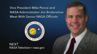 Swearing-In Ceremony for NASA's New Administrator