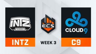 INTZ vs Cloud9 - Map 1 - Train (ECS Season 7 - Week 3 - DAY3)
