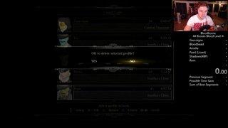 Bloodborne No Level-Up Speedrun Practice