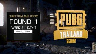 PUBG Thailand Scrim - Week 2 Day 1 !pts !teams !sea !map !prize
