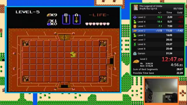 The Legend of Zelda - any% in 30:26