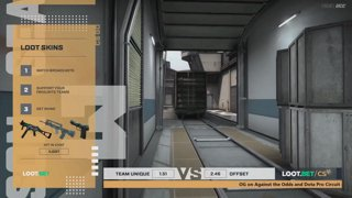 (EN) Unique vs OFFSET | map 2 | Loot.bet/CS Season 3 | by @VortexKieran & @skrivcasts