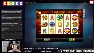 COUPLE RETRIGGERS - Gold of Persia - 2.5€ BET