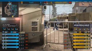 CS:GO - Fnatic vs. HellRaisers [Overpass] Map 2 - Group A - ESL Pro League Season 9 Europe