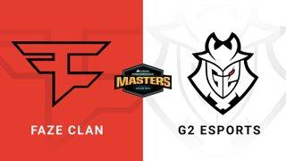 FaZe vs G2 Esports - Dust 2 - Quarter-Final #2 - CORSAIR DreamHack Masters Dallas 2019