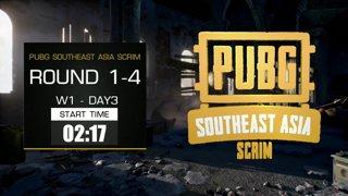 PUBG Southeast Asia Scrim - Week 1 !th !vn !indo !map !prize