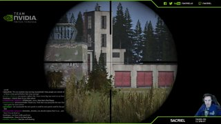 Стрим DayZ nvidia Sacriel has three amazing sniper kills in DayZ