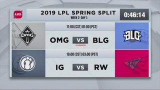 LPL Spring: FPX vs. SS - SN vs. RNG