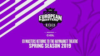 EU Masters Spring 2019 - Group Stage Day 1