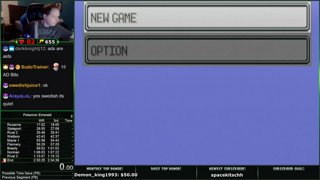 Pokemon Emerald First Completed Speedrun in 2:41:02! [Current Personal Best]