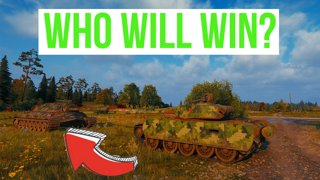 T-44-100 5.1 Murovanka against T10