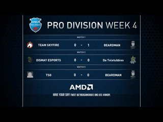 AMD Pro Leagues week 3 - SkyFire VS Beardman Game 2