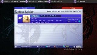 dissidia 012 online