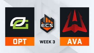 OpTic vs Avangar - Map 3 - Train (ECS Season 7 - Week 3 - DAY2)