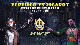HWF: Zigarot Vs Vertiigo (Extreme Rules Match) 11/16/2018