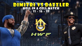 HWF: Dimitri Vs Dazzler (Hell in a Cell Match) 11/16/18