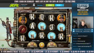 🎰Morning slots with shin Wu PIP! 🎰 - €6000 !giveaway raw cash! - Write !nosticky1 & 2 in chat for the best casino bonuses!